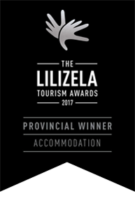 Beverley Country Cottages is a Provincial Winner in the 2017 Lilizela Awards